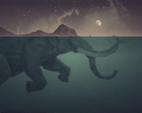 elephant wallpaper for walls polygon elephant wallpapers images photos pictures backgrounds