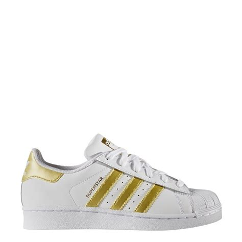 bb2870 adidas shoes superstar j white gold gold 2017 kids leather nuevo ebay