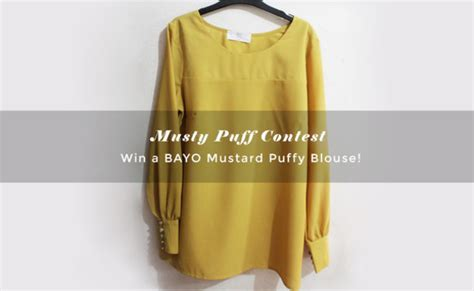Clothes Giveaway Contest - blouse mustard blouse mustard mustardblouse clothes clothes dress top top