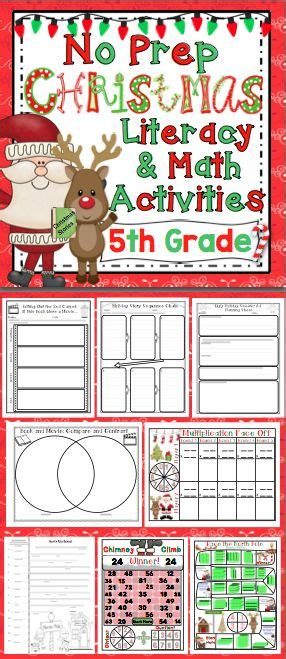 christmas activities 5th grade activities the o jays