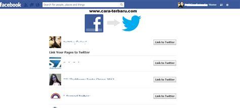 cara membuat status twitter masuk ke facebook cara agar status facebook masuk ke twitter