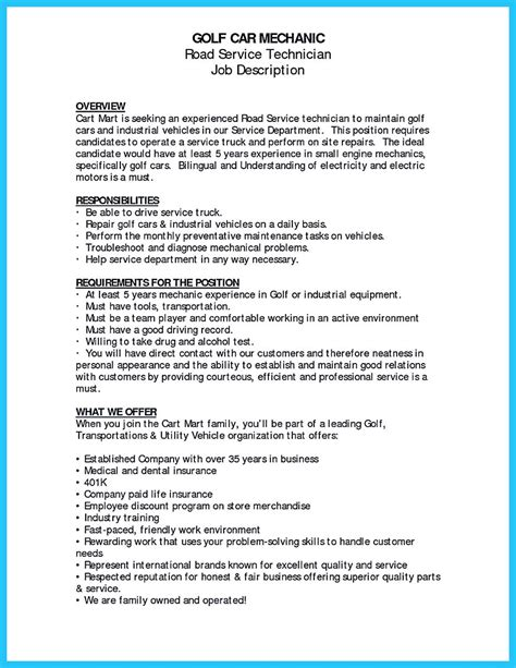 Mechanic Resume Objective by Writing A Concise Auto Technician Resume