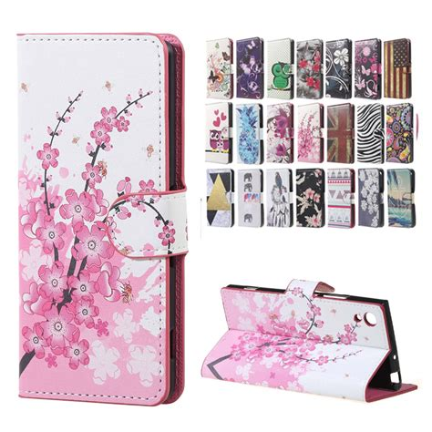 Casing Xperia Xa1 Xa1 Dual Poster Custom for sony xperia xa1 cover pu leather wallet flip