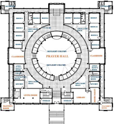 temple floor plan buddhist master harvard ph d now temple builder