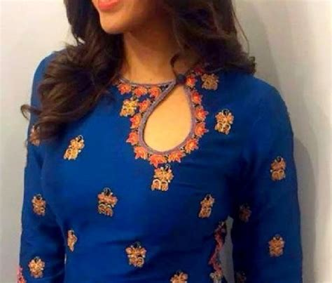 boat neck kurti design 2018 25 new kurti neck designs for 2018 in india styles at life