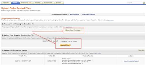 amazon tracking ordoro how do i manually upload tracking numbers into