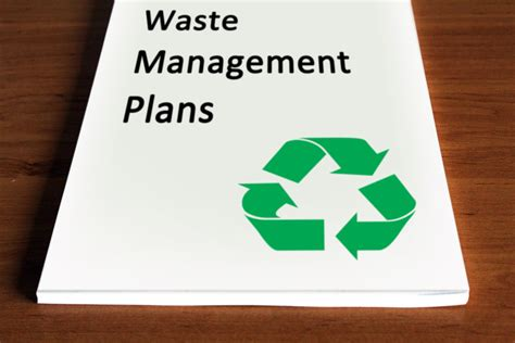 waste management strategy template how to write a waste management plan 10 steps with pictures
