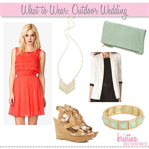 What To Wear To A Backyard Wedding by Does The Internets What To Wear Outdoor Wedding
