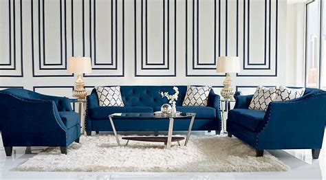 navy blue furniture living room navy blue gray white colored living room