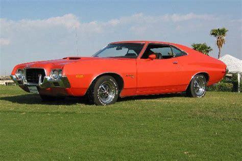orange  gran torino sport  gran torino sport ranchero autos