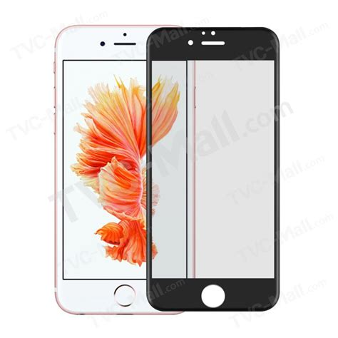 Cover Tempered Glass 4d Apple Iphone 6 6s 6 Plus 6s Plus 1 0 2mm 4d curved tempered glass screen protector for iphone 6s plus 6 plus size black