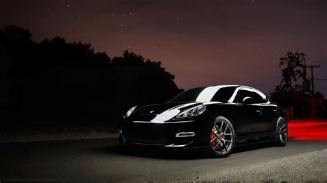 black porsche panamera wallpaper porsche panamera carbon graphite vorsteiner 5k wallpapers