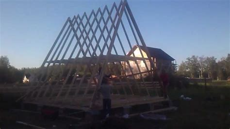 a frame building a frame house ii youtube