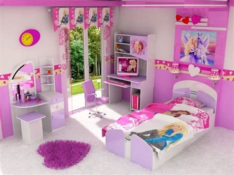 barbie bedroom decor cute barbie girly bedroom ideas