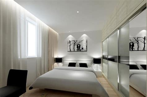 black and white minimalist bedroom black wardrobe minimalist bedroom interior design