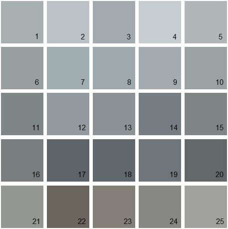 Grey Paint Swatches | benjamin moore gray house paint colors swatch 08 denver paint contractor