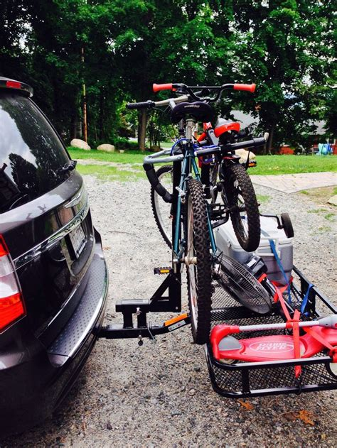 Hitch Cargo Bike Rack Combo by 1000 Images About Cargo Carrier On Amigos