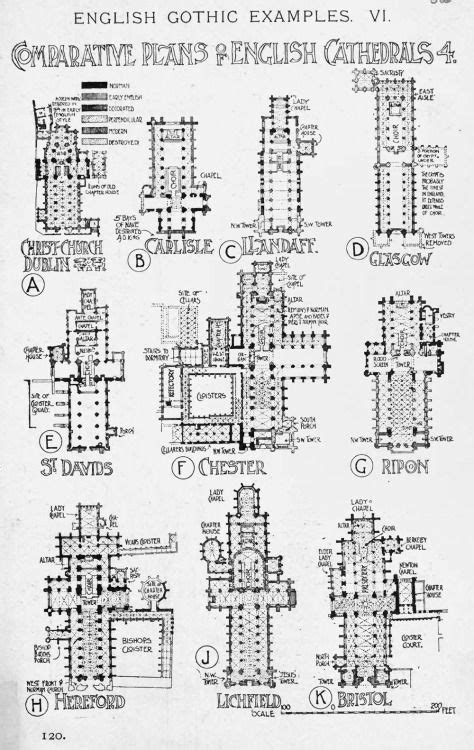 gothic church floor plan gothic churches cathedrals floor plans drawings