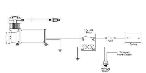 viair 12 volt air compressor wiring diagram viair get