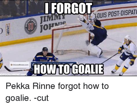 Hockey Goalie Memes - 25 best memes about pekka rinne pekka rinne memes