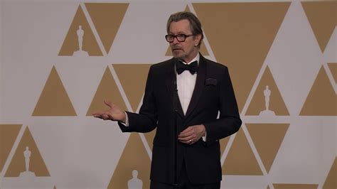 gary oldman youtube interview gary oldman full backstage interview best actor