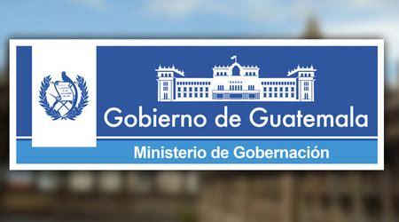 pagina de jubilados del estado de guatemala ministerio de gobernaci 243 n mingob deguate com