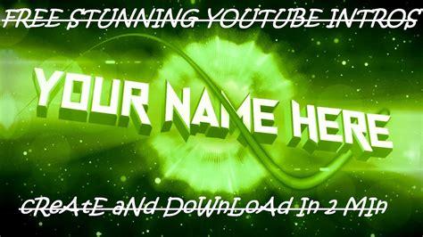 logo intro maker free free intro maker free intro maker no watermark