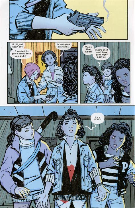 paper girls 05 paper girls the comics journal