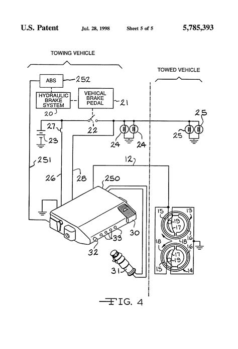 electric trailer brake controller wiring diagram and