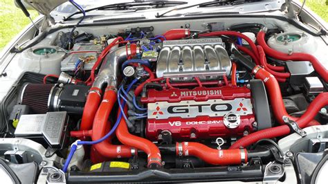 mitsubishi 3000gt engine bay mitsubishi gto engine bay at japfest 09 davcom1 flickr