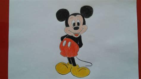 imagenes de mickey para dibujar a lapiz como dibujar a mickey mouse paso a paso how to draw