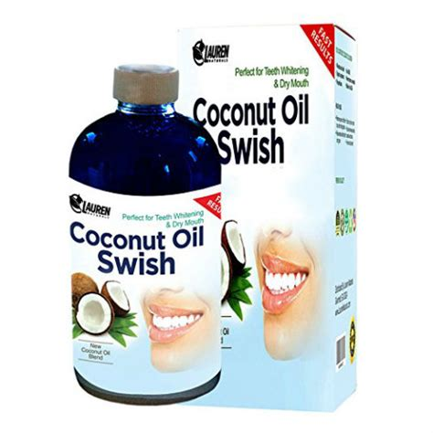 Swishing Coconut Detox by Best Whitening Mouthwash Reviews Of 2017 Dental Dorks