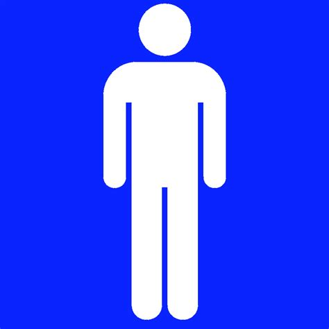bathroom symbols men restroom symbol clipart best