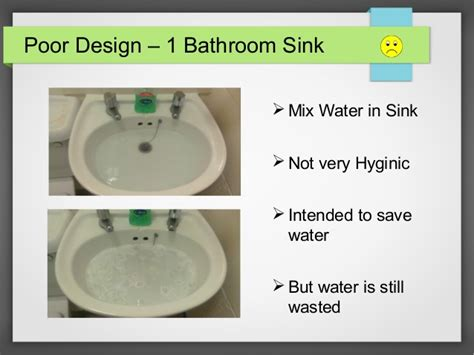 is sink water safe to design review 3 good designs and 3 poor designs