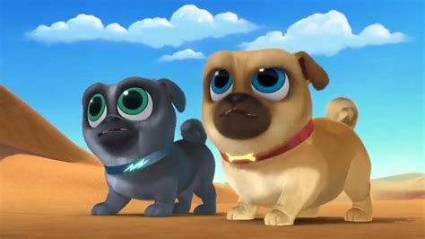 puppy pals bingo bingo and rolly save hissy from a camel puppy pals 2017 disney junior