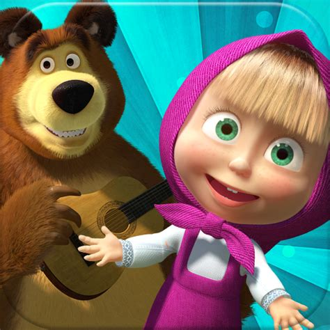 film lucu kartun foto kartun masha and the bear bergerak holidays oo