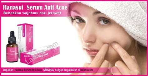 Hanasui Serum Anti Acne By Jaya Mandiri Original Bpom jual hanasui serum anti acne harga termurah 100 original