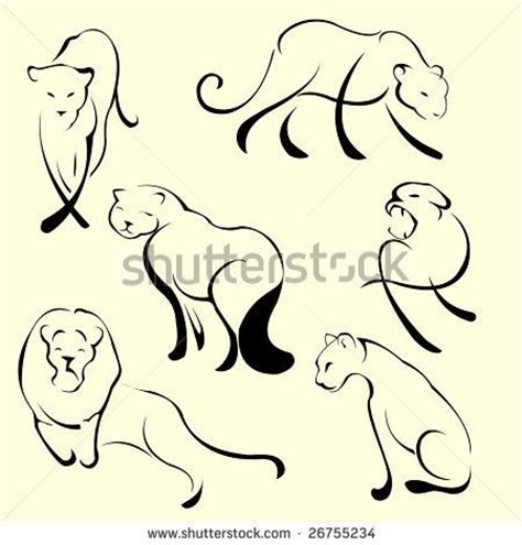 easy lion tattoo designs lioness outline tattoo tats pinterest