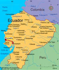 map of ecuador south america amanda 180 s great south american adventure 16 monta 241 ita