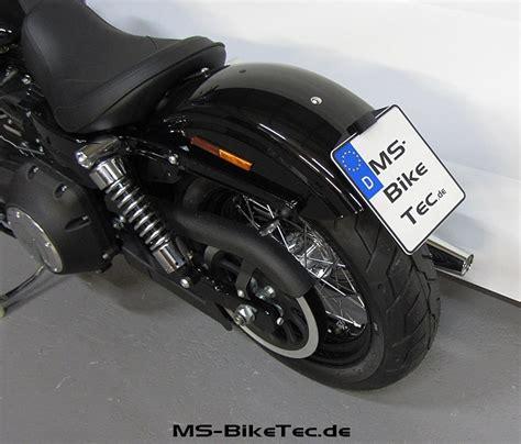 Kennzeichenhalter Motorrad Harley by Kennzeichenhalter Quot Back Up Ii Quot F 252 R Dyna 174 Modelle