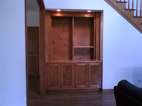 custom made custom built entertainment center with