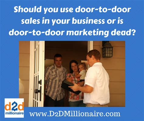 Door To Door Marketing d2d
