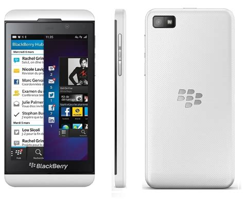blackberry  gb smartphone  mobile white fair