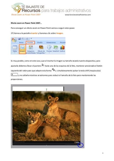 linkedin tutorial powerpoint como hacer efecto zoom en powerpoint 2007 tutorial en