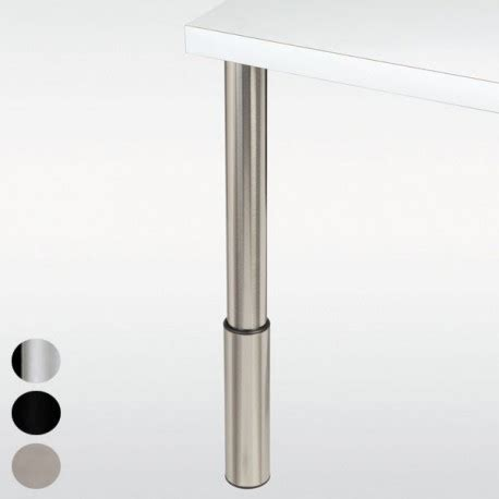pied de table reglable 2717 pied r 233 glable hauteur 910 224 1100 mm
