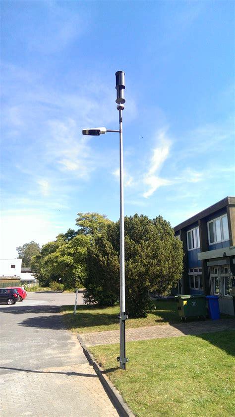 wind powered led street lamp