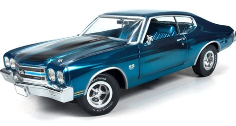 1969 Chevrolet Camaro Tuxedo Black Ertl 1 18 Evergreen Toys 1 Of 2200 1970 chevy chevelle ss396 le mans blue chrome ertl