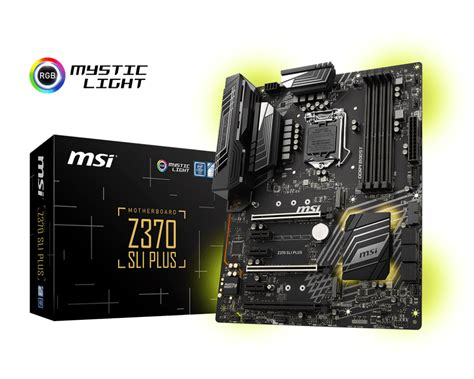 Msi Z370 Gaming Plus Lga1151 Z370 Ddr4 Usb3 1 Sata3 gallery for z370 sli plus motherboard the world leader
