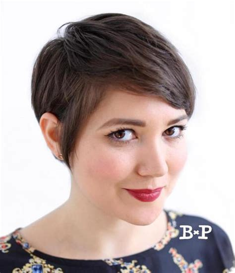 pixie haircut for strong faces 50 cute looks with short hairstyles for round faces