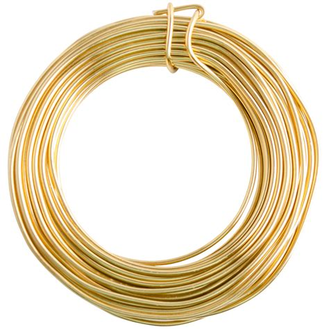 gold wire for jewelry 12 gold enameled aluminum wire 40ft wire jewelry